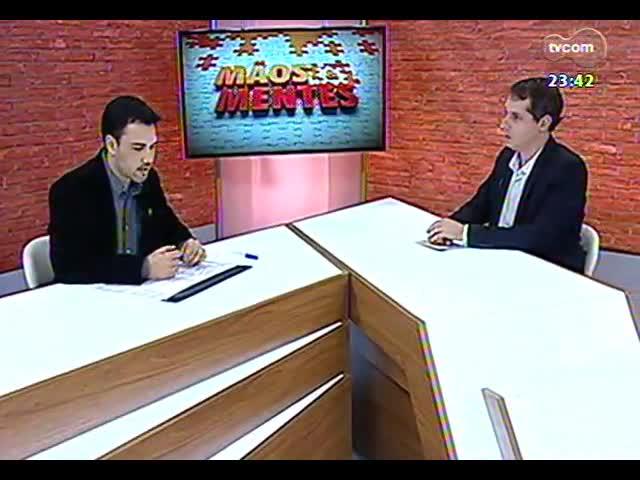 Mãos e Mentes - professor coordenador do curso de design da Unisinos, Fabrício Tarouco - Bloco 3 - 19/09/2013