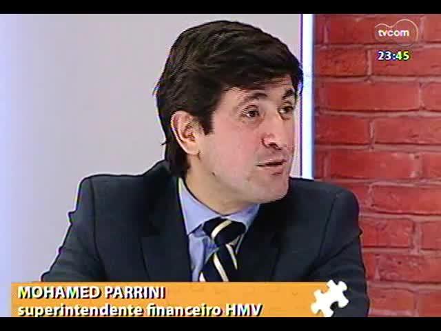 Mãos e Mentes - Superintendente financeiro do Hospital Moinhos de Vento, Mohamed Parrini - Bloco 2 - 31/10/2013