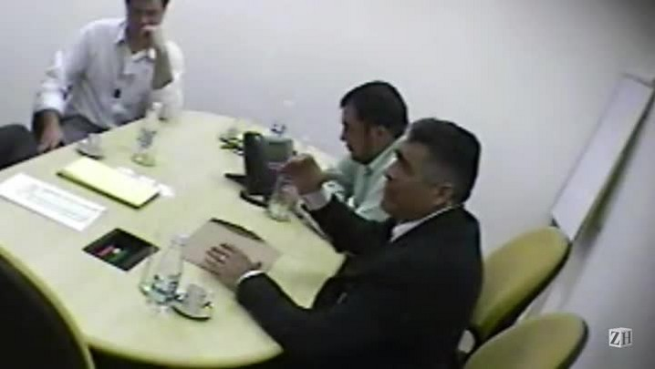 Flagrante: presidente de sindicato ameaça empresário caso rompa contrato