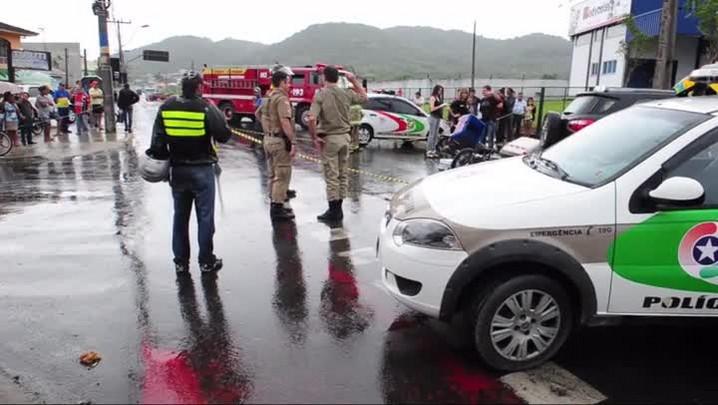 Motociclista morre em acidente na rua Tuiuti
