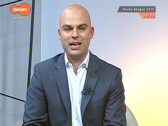 TVCOM 20 Horas - O legado da Copa na escola Mario Quintana no bairro Restinga - 12/06/2015