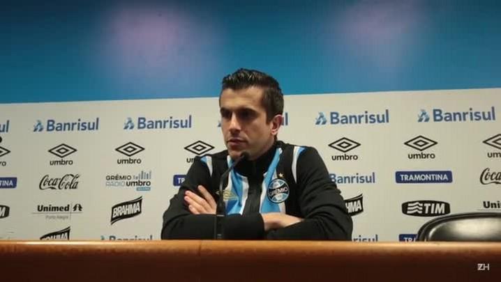 Marcelo Grohe fala sobre volta da Seleção