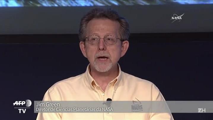 Nasa anuncia que evidências de água foram achadas em Marte
