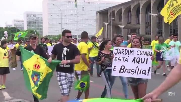 Protesto pelo impeachment em Brasília