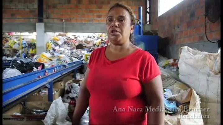 Diário nos Bairros - Reciclagem na Nova Santa Marta