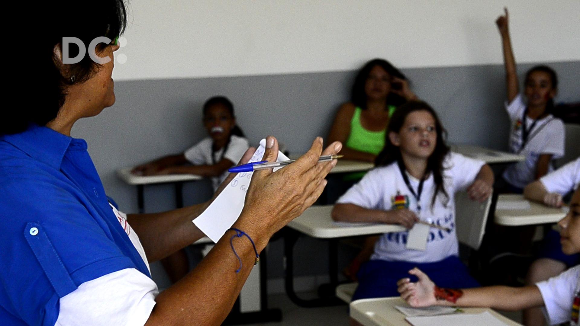 DC realiza oficina de jornalismo para crianças em Gaspar, SC