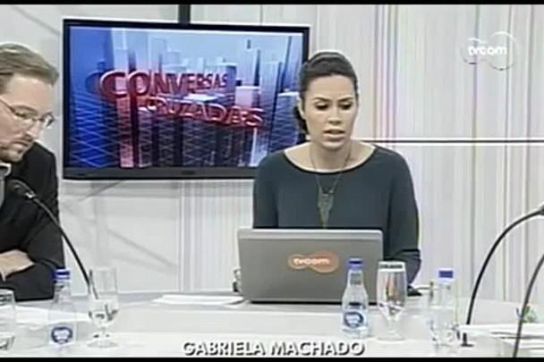 TVCOM Conversas Cruzadas. 3º Bloco. 04.05.16