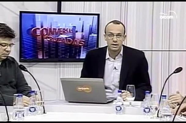TVCOM Conversas Cruzadas. 2º Bloco. 14.06.16