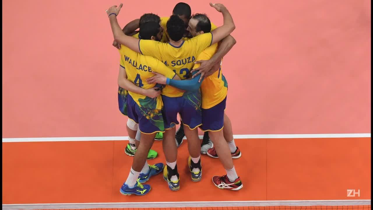 Vôlei brasileiro é tricampeão olímpico