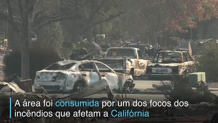Fogo deixa 17 mortos na Califórnia