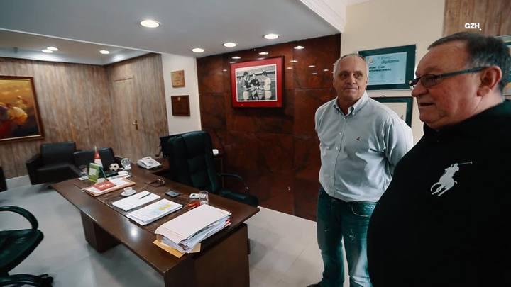 Bastidores do Pedro: visita à sala do presidente Marcelo Medeiros