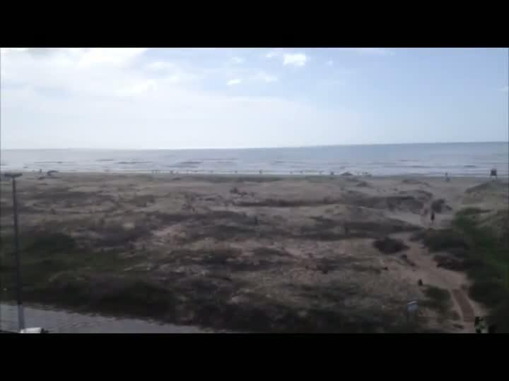 Tempo é bom em Torres, no litoral gaúcho