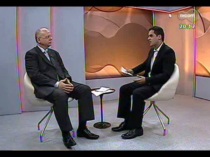 TVCOM 20 Horas - 26/12/12 - Bloco 2 - Os desafios de infraestrutura para os municípios gaúchos