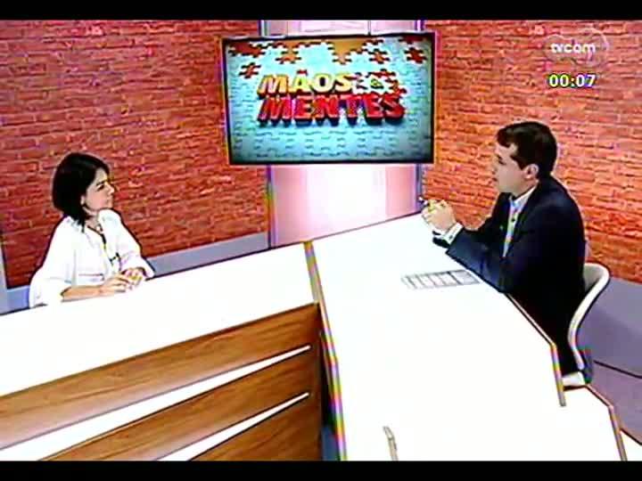 Mãos e Mentes - Gabriela Ferreira, diretora de Inovação e Desenvolvimento do Tecnopucrs - Bloco 4