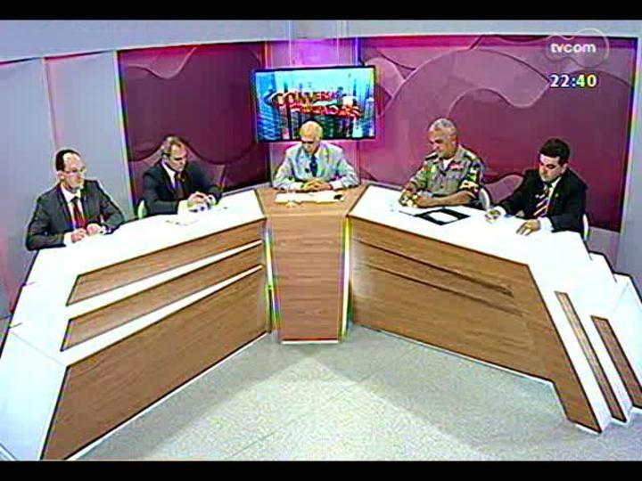 Conversas Cruzadas - Como garantir mais segurança à população? - Bloco 2 - 24/01/2013