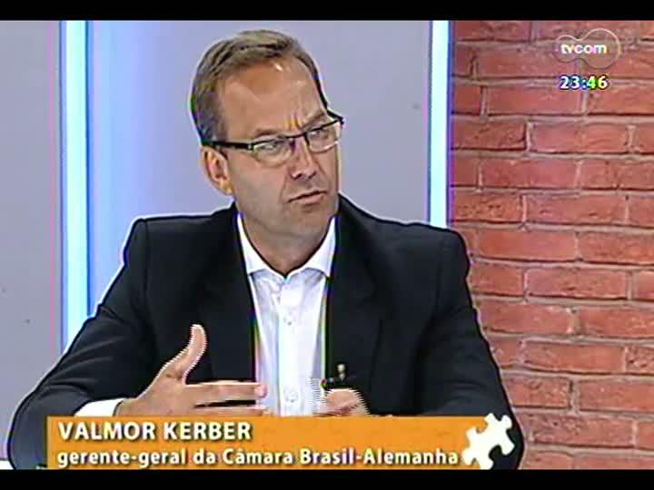Mãos e Mentes - Gerente-geral da Câmara Brasil-Alemanha, Pedro Valmor Kerber - Bloco 2 - 06/03/2013