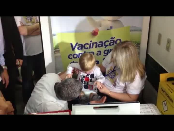 Dia de vacinação - 20/04/2013