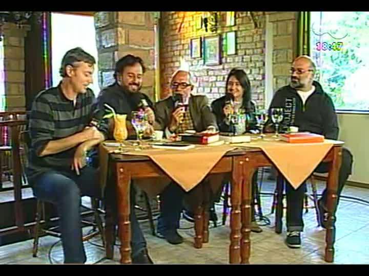 Café TVCOM - Atrações da 6ª FestiPoa Literária - Bloco 4 - 11/05/2013