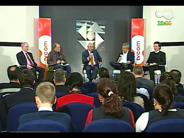 Conversas Cruzadas - Direto de Novo Hamburgo, o programa debate sobre o momento econômico do RS, em especial do Vale dos Sinos - Bloco 3 - 23/05/2013