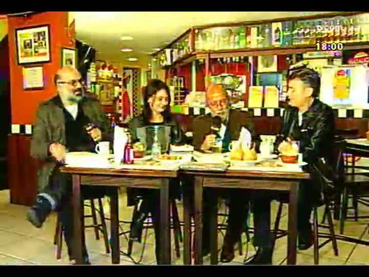Café TVCOM - O jornalista Ruy Mesquita e o livro de Breno Serafini - Bloco 1 - 25/05/2013