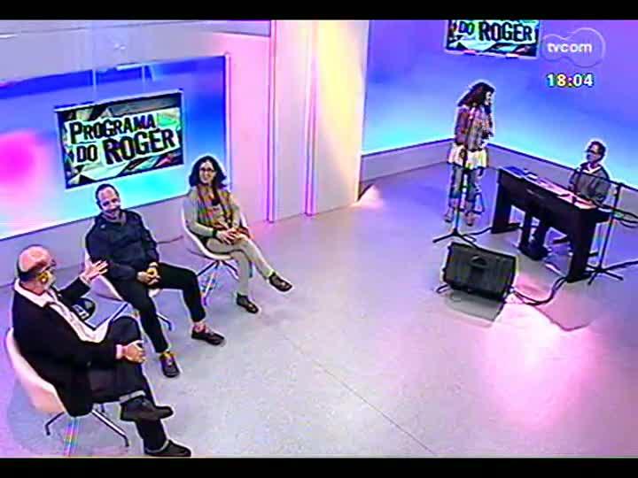 Programa do Roger - Entrevista com os artistas visuais Elida Tessler e Paulo Pasta - bloco 2 - 05/06/2013