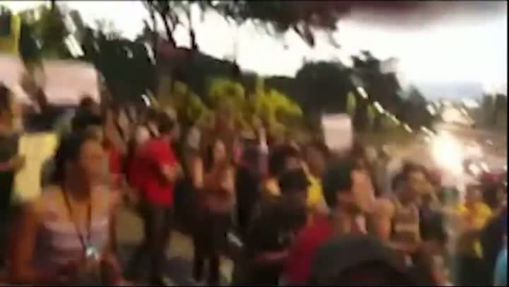Protesto em Belo Horizonte