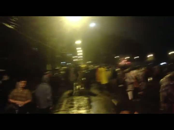Manifestantes e BM entram em conflito durante protesto. 20/06/2013