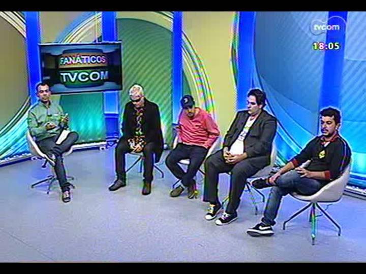 Fanáticos TVCOM - Luiz Alano e convidados antecipam o jogo Brasil x Espanha na Copa das Confederações - bloco 1 - 30/06/2013