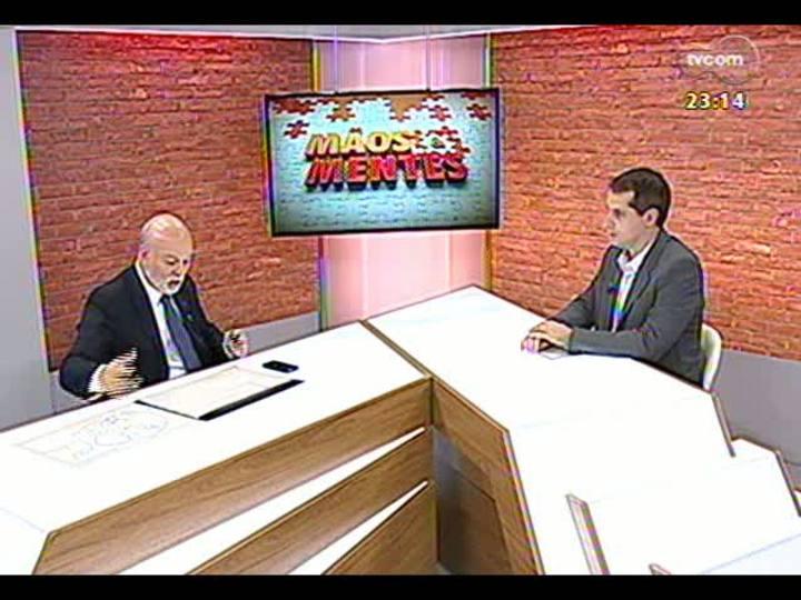 Mãos e Mentes - Presidente do Sindicato das Empresas de Telefonia Celular, Eduardo Levy - Bloco 2 - 07/07/2013