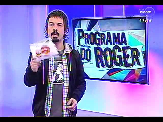 Programa do Roger - Graça Garcia e Silfarnei Alves falam de Tributo a Lupicínio Rodrigues - bloco 1 - 16/09/2013