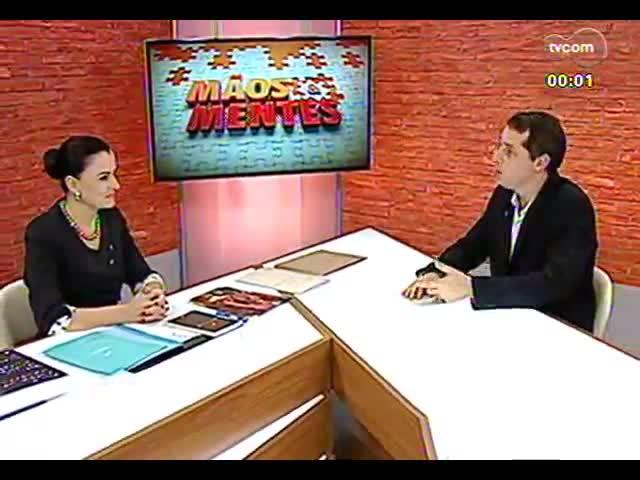 Mãos e Mentes - Presidente da 9ª Bienal do Mercosul, Patricia Duck - Bloco 3 - 27/09/2013