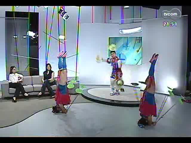 TVCOM Tudo Mais - Veja um bate-papo e a apresentação do Circo Nacional da China