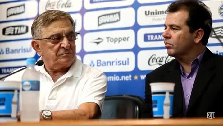 Enderson Moreira é apresentado como treinador do Grêmio para 2014