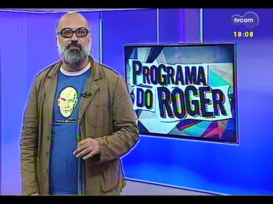 Programa do Roger - Documentário \'Os Replicantes em close up\' mostra cenas inéditas da banda - Bloco 3 - 19/12/2013
