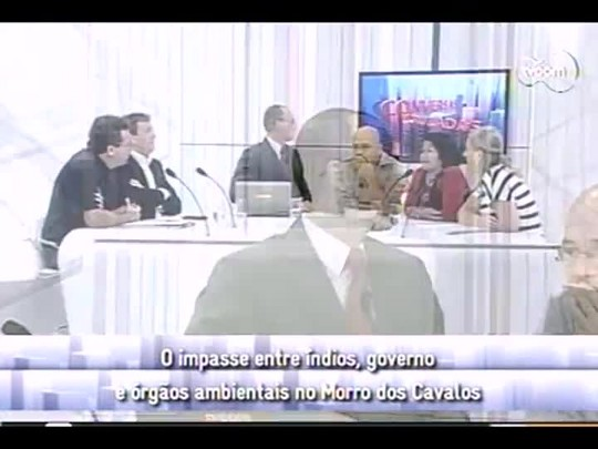 Conversas Cruzadas - 4o bloco - Questão indígena no Morro dos Cavalos - 09/01/2014