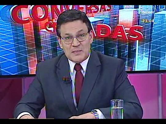 Conversas Cruzadas - Entrevista com o novo presidente da Assembleia Legislativa Gilmar Sossella - Bloco 4 - 04/02/2014