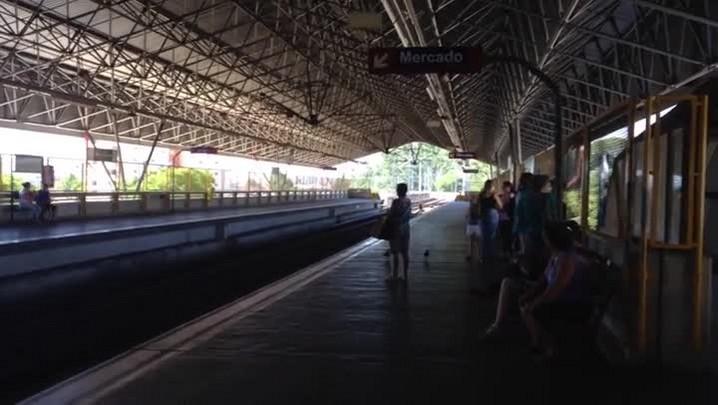 Confira a situação das estações de trem da Região Metropolitana. 19/02/2014