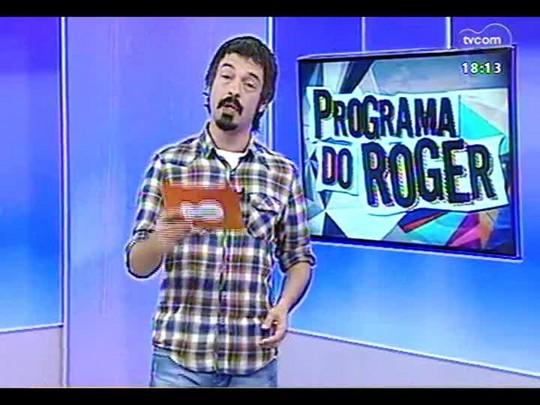 Programa do Roger - Entrevista com o ator Joel Kinnaman do filme \'Robocop\' - Bloco 3 - 25/02/2014