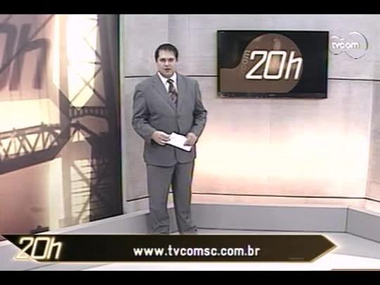 TVCOM 20 Horas - Incêndio em torre de telefonia chama atenção de moradores em São José - Bloco 2 - 04/07/14