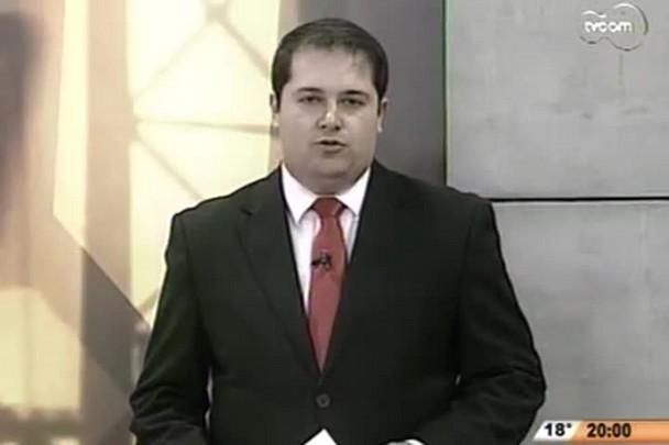 TVCOM 20 Horas - Justiça ordena reserva de 30m no entorno da Lagoa da Conceição - 1º Bloco - 18/07/14