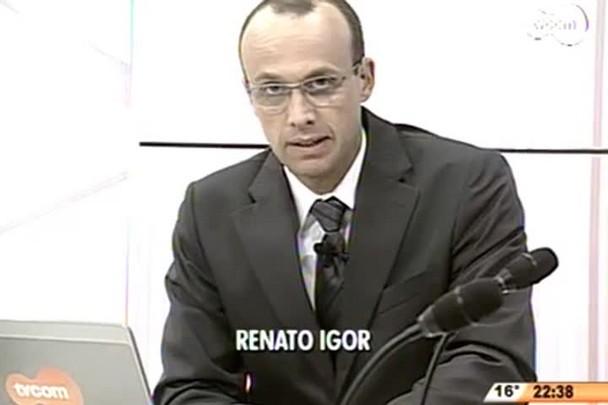 Conversas Cruzadas - Entrevista com os candidatos a vice-governador Joares Ponticelli (PP) e Eduardo Pinho Moreira (PMDB)- 3º Bloco - 04/08/14