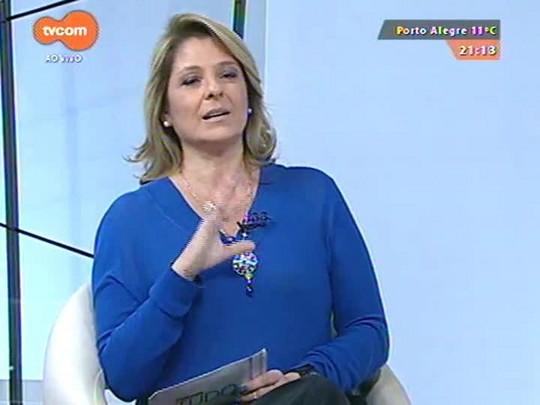 TVCOM Tudo Mais - Fernanda Pandolfi conta tudo que rolou nos bastidores do show dos Backstreet Boys