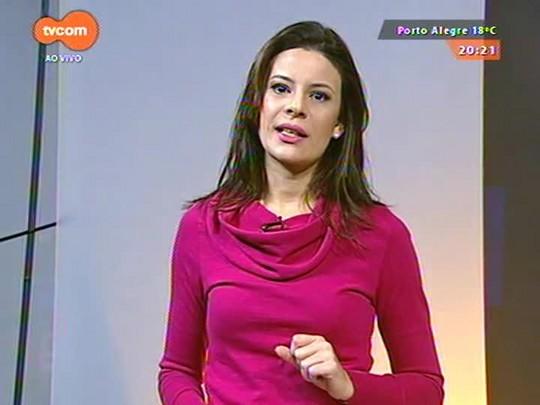 TVCOM 20 Horas - Obras no Largo dos Açorianos devem ser entregues até o final do ano - 26/06/2015