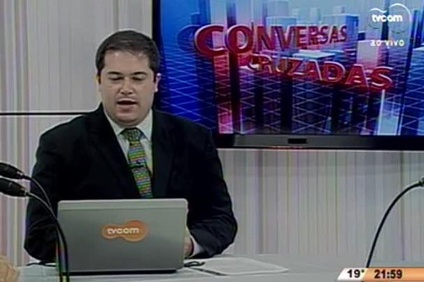 Conversas Cruzadas - As relações econômicas internacionais do Brasil durante a crise - 1º Bloco - 10.07.15