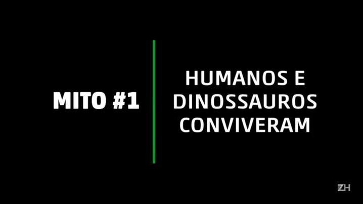 Desvende 4 mitos sobre dinossauros