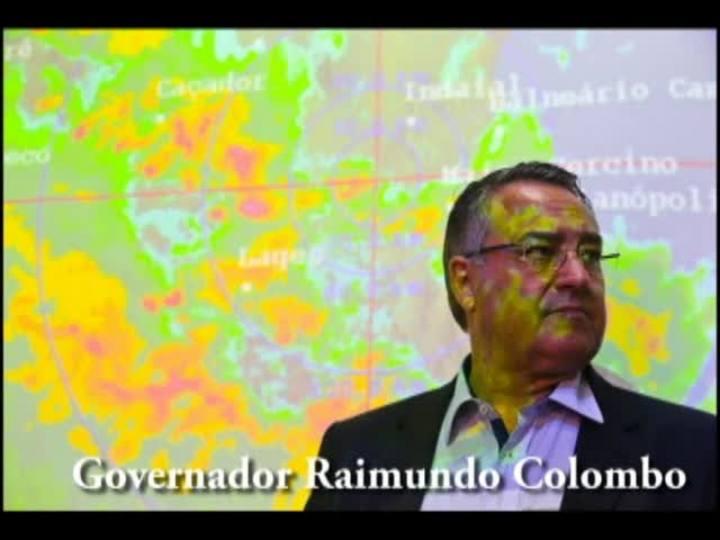 Confira o áudio da entrevista do governador Raimundo Colombo