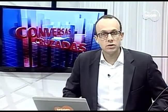 TVCOM Conversas Cruzadas. 3º Bloco. 26.08.16