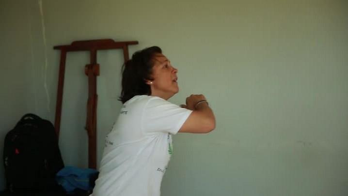Rosa é a primeira mulher mestre de capoeira em Santa Catarina