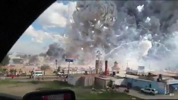 Mais de 30 mortos em explosão no México