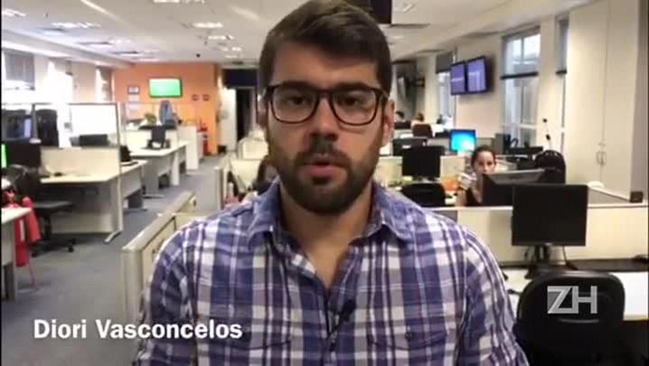 Diori Vasconcelos comenta a arbitragem de Zamora x Grêmio